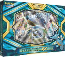 Pokemon Seedraking EX Box - Deutsch - NEU / OVP  Selten