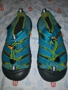 Keen Turquoise Teal  Youth Waterproof Sandals Kid's Sz 2Y