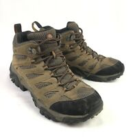 Merrell Moab 2 Mid Ventilator Mens 8.5 Brown Leather Mid Hiking Trail Boots