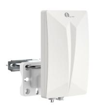 Antenne TNT Extérieure 1byone Antenne Intérieure Puissante Digitale pour Récepti
