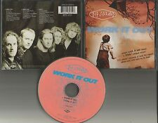 DEF LEPPARD work it Out 3 TRX w/RARE DEMO & ORIGINAL Version CD Single USA seler