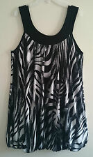 New Look Women's Animal Print Vest Top, Strappy, Cami Tops & Shirts