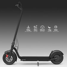 10 ZOLL Max 540W 150kg 35KM Faltbar Elektrischer E-scooter Elektroscooter LED