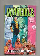 Invincible: Three's Company Vol 7 - Robert Kirkman Tpb - (Grade 9.2) 2008