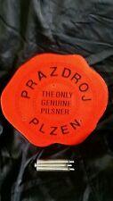 PRAZDROJ PLZEN (THE ONLY GENUINE PILSNER) PLASTIC SIGN COLLECTOR'S ITEM