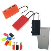 1pcs Security Combination Locks Travel Luggage Bag Locker Gifts Padlock N5Q3
