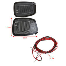 2X 12V Car Wing Side Mirror Heating Accessories Glass Dryer Heater Defoger Pads
