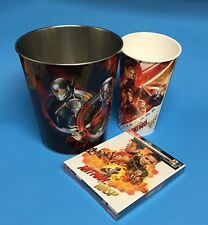 ANT-MAN AND THE WASP Blu-ray 4K Digital w/Book WITH COLLECTIBLE CUP& BUCKET WOW