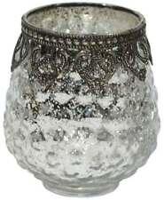 mediterrane deko kerzenst nder teelichthalter aus glas. Black Bedroom Furniture Sets. Home Design Ideas