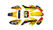 CRF50 Yellow Plastics with Rockstar - YELLOW Pitbike Stomp Demon X WPB