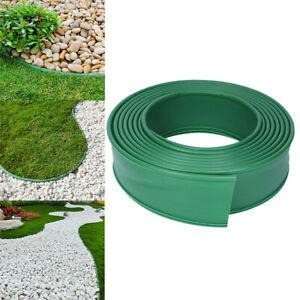 1 Roll Plastic Garden Lawn Border Fence Belt Garden Grass Edge Isolation Border