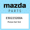 E30223200A Mazda Piston set std E30223200A, New Genuine OEM Part