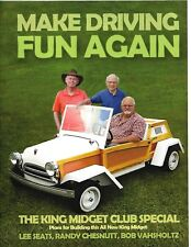 King Midget- Make Driving Fun Again- NEW BOOK!