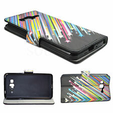PU Leather Skin Card Wallet Cover Phone Case For Samsung Galaxy Grand Prime G530