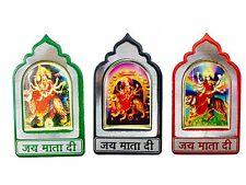 Durga Maa Sticker Metal Adhesive Sticker Hindu God Mandir Sticker – 6cm x 4cm