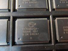 CY7C68013A-100AXC  EZ-USB FX2LP High-Speed USB Peripheral Controller TQFP100