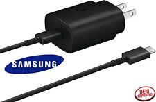 Samsung Galaxy Note10 20 S20 S20 Ultra 25W Super Fast Wall Charger +Type-C Cable