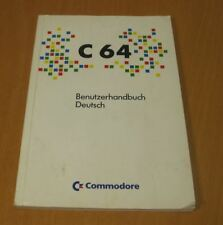 Commodore 64 MicroComputer Benutzerhandbuch - C64 C - manual German