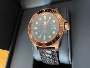 GLYCINE 'Combat Sub Bronze' Men's Automatic Watch