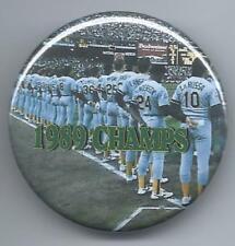 1989 Oakland A's Button - World Series Champions - Rickey Henderson Photo Pin