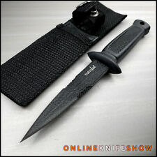 """7.5"""" Tactical Fixed Blade Survival Hunting Boot Knife Spear Point Dagger Sheath"""