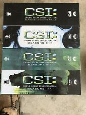 Csi: Crime Scene Investigation - Complete Series DVD Seasons 1-15 & The Finale.