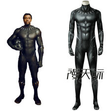 Movie Black Panther T'Challa Cosplay Costume 3D Printing Fancy Dress Jumpsuits