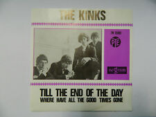 THE KINKS Till the End of the Day Orig. Holland Pye PS Single 1965