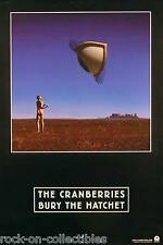 The Cranberries 1999 Bury The Hatchet Original Double Sided Promo Poster