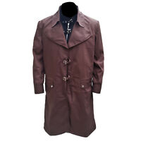 Mad Eye Alastor Moody Harry Potter Brown Cotton Trench Coat With Vest All Sizes