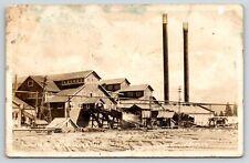 McCloud California~McCloud River Lumber Company Mills~Work Here Now~1930s RPPC