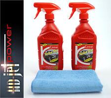 Politur Autopflegeset Nano Lackversiegelung 2x Reflex Dry Spray + Mikrofasertuch