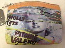 Portamonete - Portaspiccioli - Marylin Monroe Ritonie Valens - Nuovo