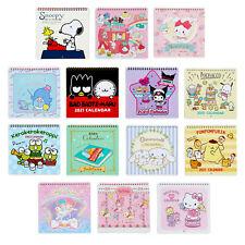 Japan Sanrio Characters Mix / Snoopy 2021 Small Wall Calendar