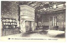 CPA 18 - Château de MEILLANT (Cher) - 232. Salle à manger