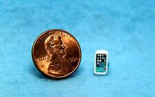 Dollhouse Miniature Smart Phone / Cell Phone with Icons on Display ~ IM65581