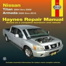 Haynes Repair Manual: Nissan Titan models 2004-2009 and Armada-ExLibrary