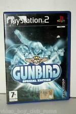 GUNBIRD SPECIAL EDITION GIOCO USATO BUONO SONY PS2 EDIZIONE ITALIANA GS1