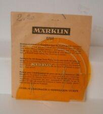 Marklin 0205 Track Template