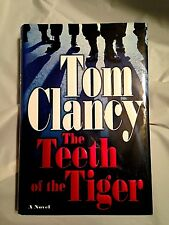 First Edition  THE TEETH OF THE TIGER  Clancy 2003 Terrorist