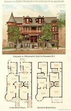 Newark, N J. -   Scientific American Architects and Builders Edition  -  1891