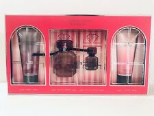 1 New Victoria's Secret Bombshell 4 Piece Gift Set Perfume Mist Lotion Wash HTF