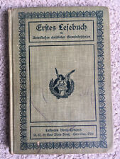VTG Lutheran ANTIQUE Early 1900s German?  Religious relic ERFTES LEFEBUCH book