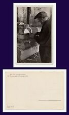 GERMAN OCCUPATION OF RUSSIAN TERRITORY WW II REAL PHOTO MOSS SEALING NEW HOUSE