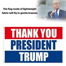 New listing Donald Trump Flag Don Jr Ivanka Thank You President Trump 2024 3x5Ft Garden Flag