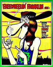 Fabulous Furry Freak Brothers Vinyl Bumper Sticker Decal Rock n Roll Hippie