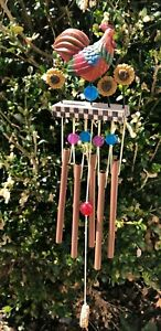 JIM SHORE 2001 ROOSTER WIND CHIME