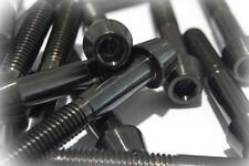 Titan vis m8 x 50 conique grade 5 Noir tenacité