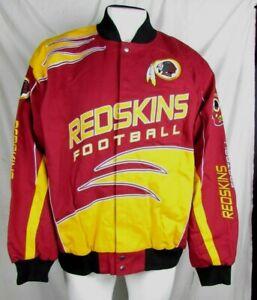 Washington Redskins NFL Big & Tall Men's Snap Up Cloth Twill Jacket