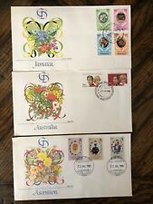 Royal Wedding 1981 Charles and Diana First Day  Fleetwood Covers